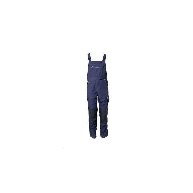 CANVAS 320 Spodnie ogrodniczki Planam /granatowy-granatowy/