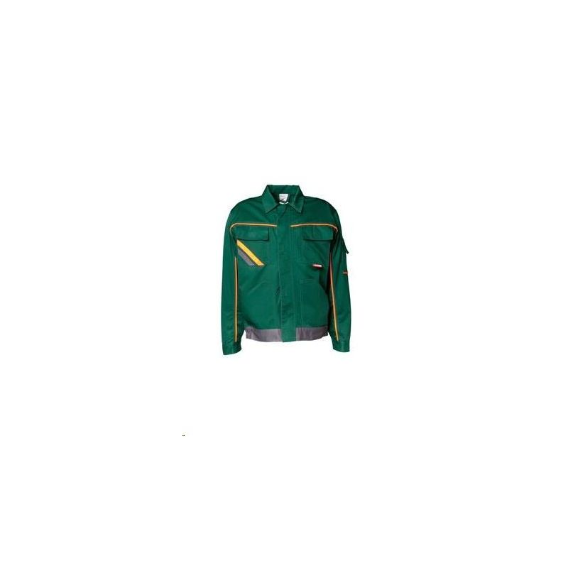 VISLINE Bluza robocza V1 Planam /zielony-pomarańczowy-łupkowy/