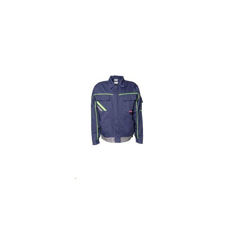 VISLINE Bluza robocza V1 Planam /granatowy-żółty-cynkowy/