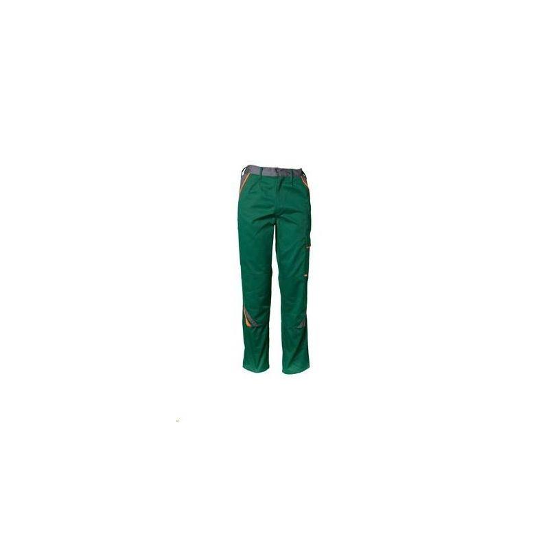 VISLINE Spodnie do pasa Planam /zielony-pomarańczowy-łupkowy/