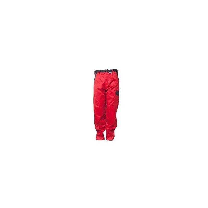 TRISTEP Spodnie do pasa Planam /czerwony-granatowy/