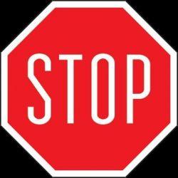 STOP.Płyta 33x33