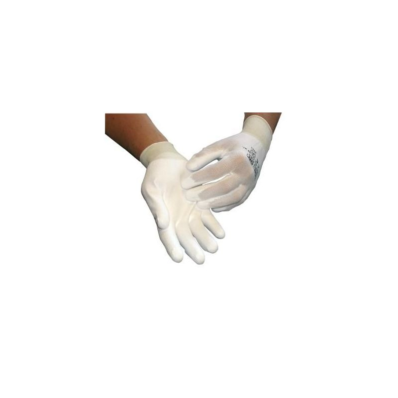 Rękawice HAND FLEX WHITE 1103 PU