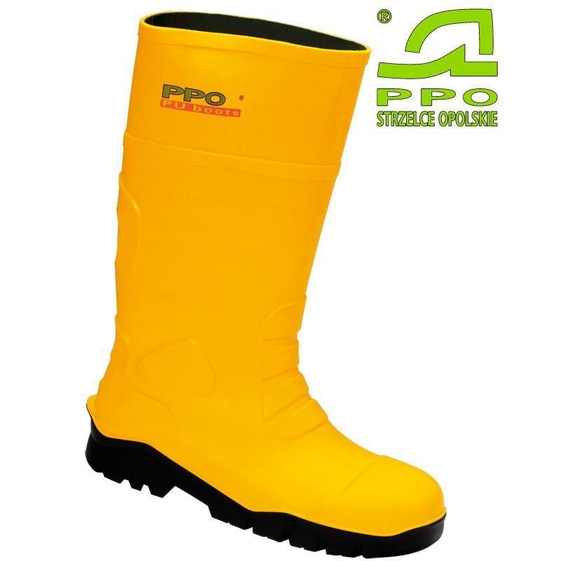 Buty całotworzywowe bezpieczne z metalowym podnoskiem i wkładką antyprzebiciowąS5 2051