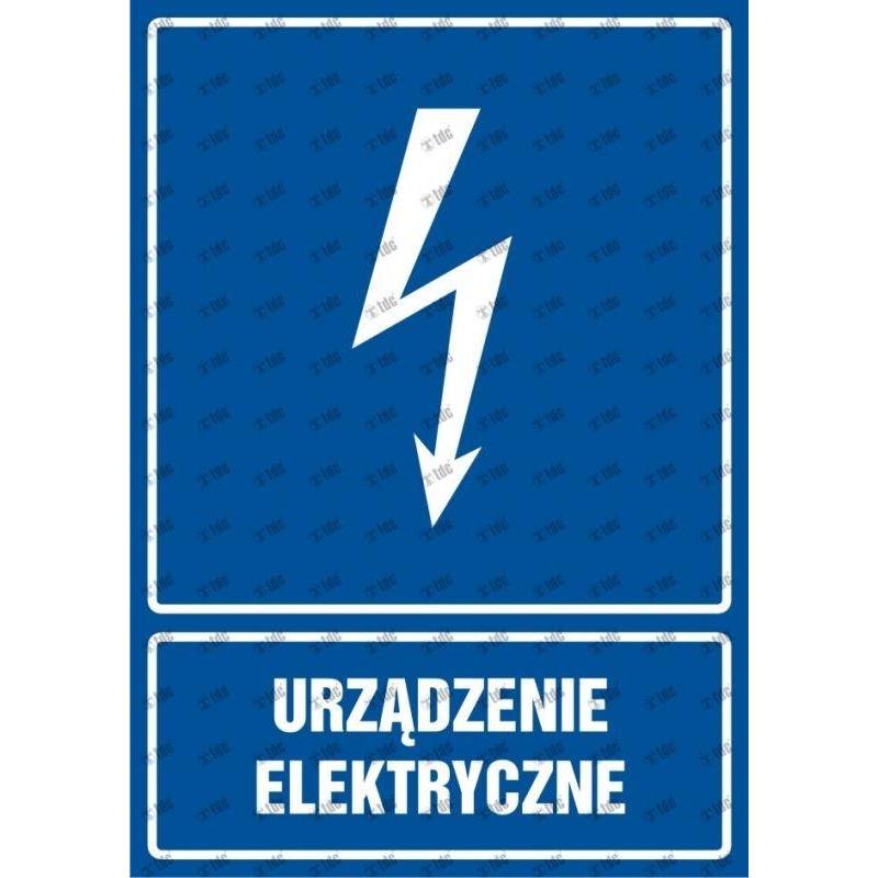 Urządzenie elektryczne. Folia 5,2x7,4