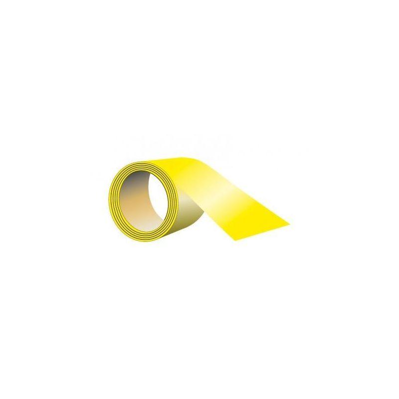 Taśma samoprzylepna na podłogę 33mb x 5 cm żółta EA015