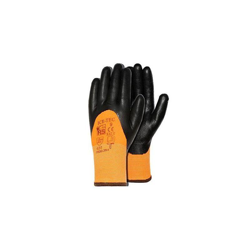Rękawice ICE TEC RS nitrylowe ocieplane