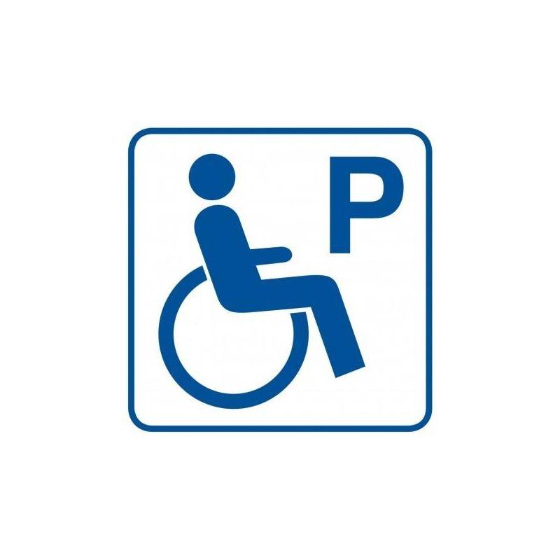 Parking dla inwalidów. Płyta 21x21