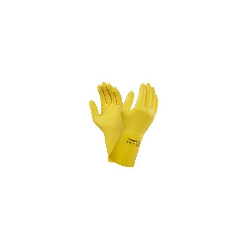 Rękawice Versatouch Ansell 87-195 żółte