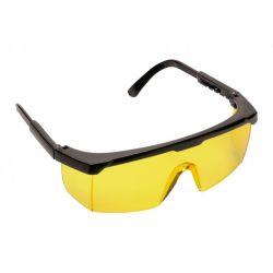 Okulary ochronne PW33 bursztynowe szybki