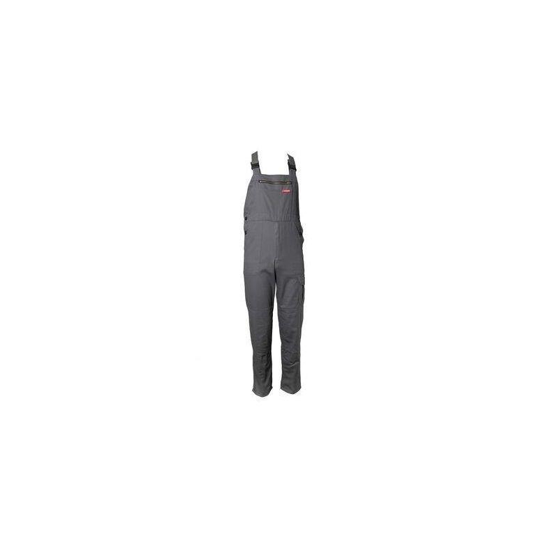 BW290 Spodnie ogrodniczki CARGO PLANAM /szare/