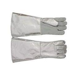 Rękawice żaroodporne 5-palcowe krótkie K5-262-008