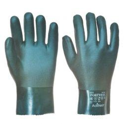 Rękawice PVC 27 cm.kat.3 A827 (DUPLO)