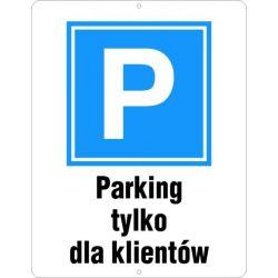 Parking dla klientów. Płyta 33x50