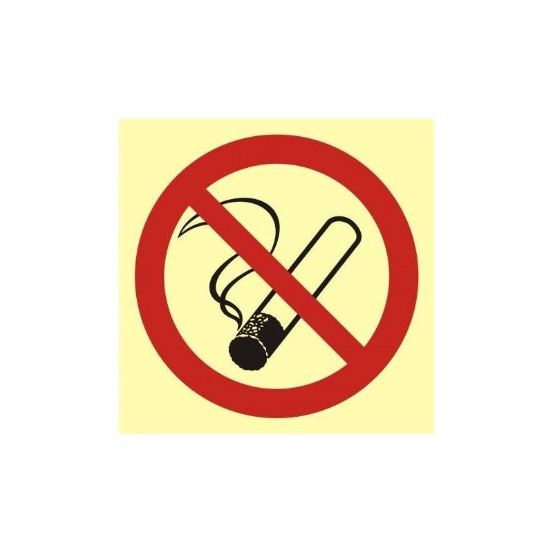 Palenie tytoniu zabronione. Płyta 15x15