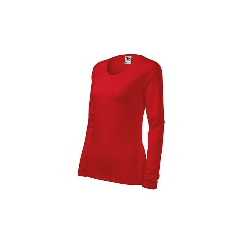 Koszulka damska długi rękaw SLIM 139