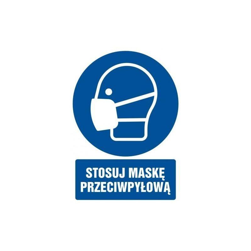 Stosuj maskę przeciwpyłową. Płyta 21x29,7