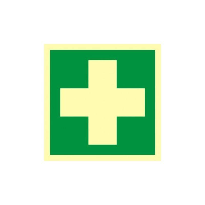 Apteczka Pierwsza pomoc medyczna. Folia 10,5 x 10,5