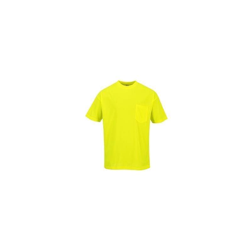 Koszulka T-shirt Portwest S578 Ls Długi Rękaw Ostrzegawcza Day Vis