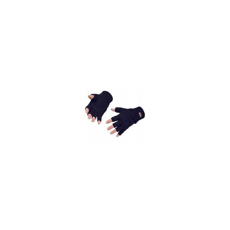 Rękawice dziane ocieplane bez palców GL14
