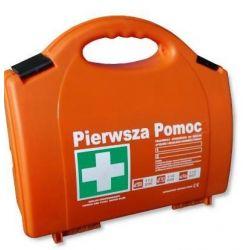 Apteczka p/pomocy z tworzywa P10 DIN 13164 + ustnik