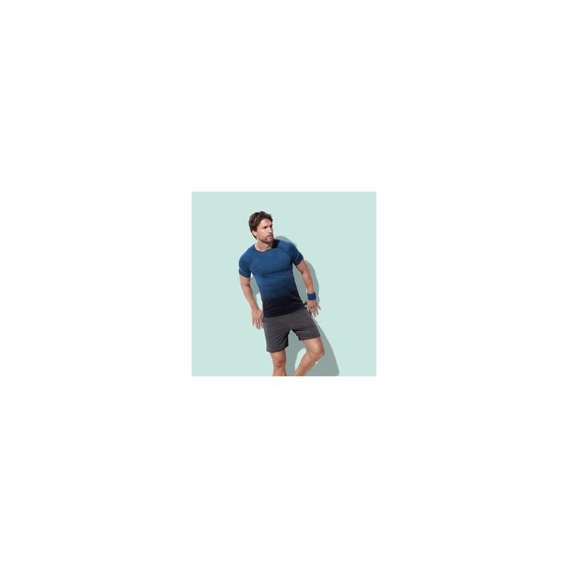 T-shirt STEDMAN Active Seamless Raglan Flow męski ST 8810