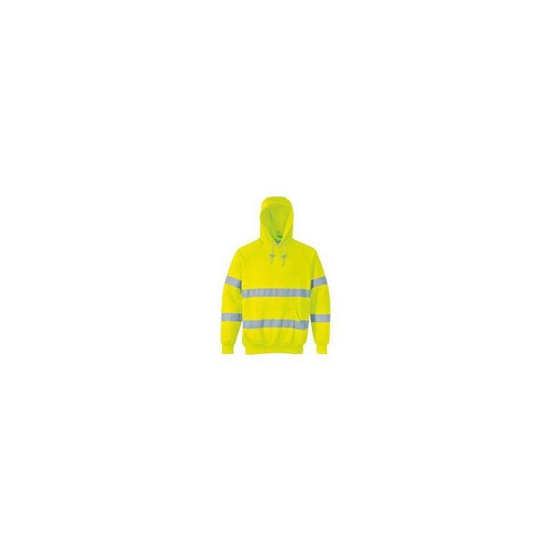 Bluza ostrzegawcza z kapturem B304 PORTWEST