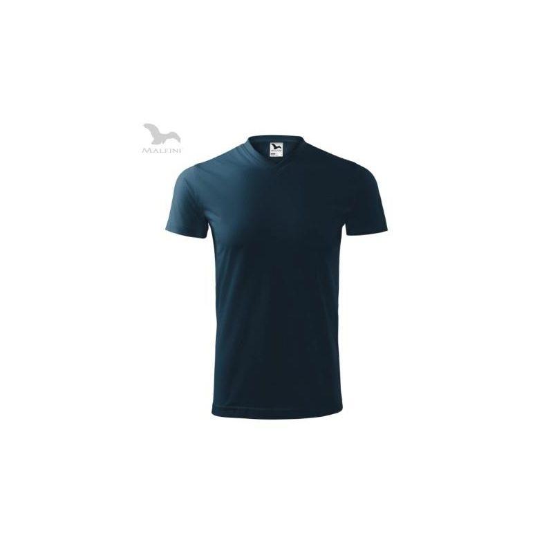 Koszulka Heavy V-neck unisex 111
