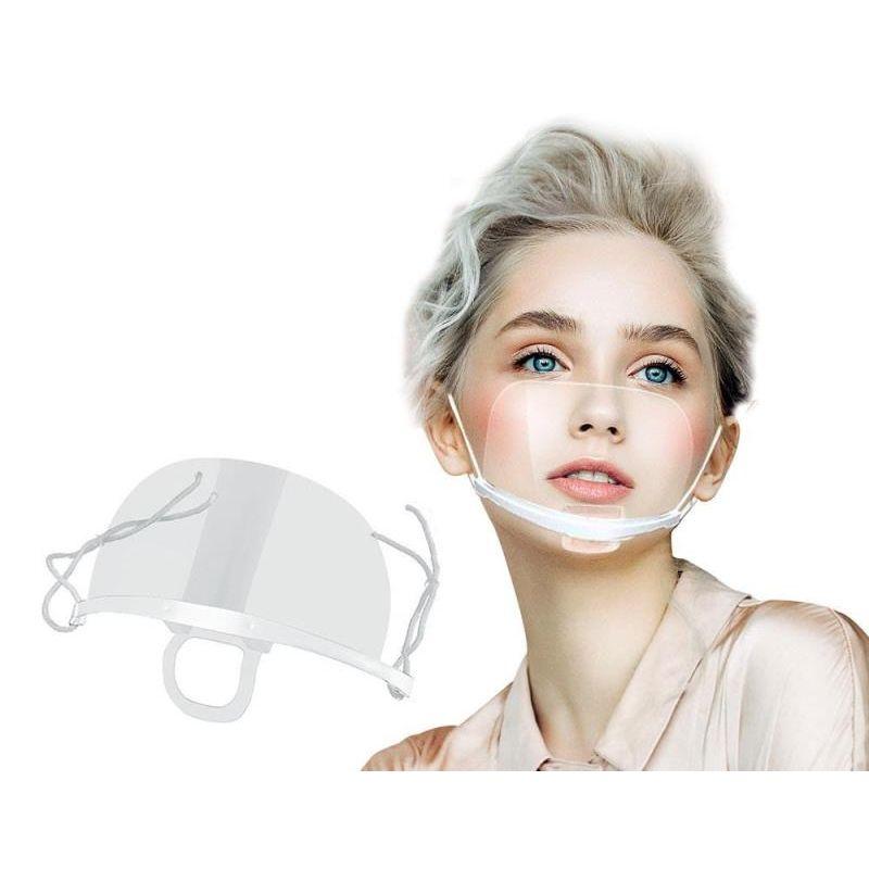 Mini przyłbica ochronna na nos i usta EZ SHIELD