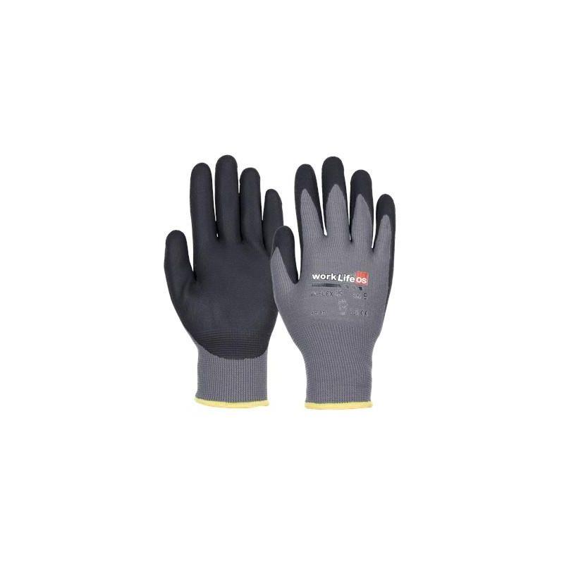 Rękawice nylonowe OS WORK Life Flexi