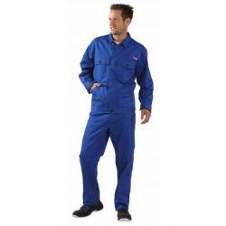 Spodnie ogrodniczki dla spawaczy PLANAM 500 g/m2 /chabrowy/