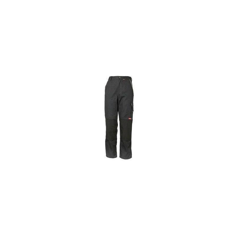 CANVAS Spodnie do pasa PLANAM /czarno-czarne/