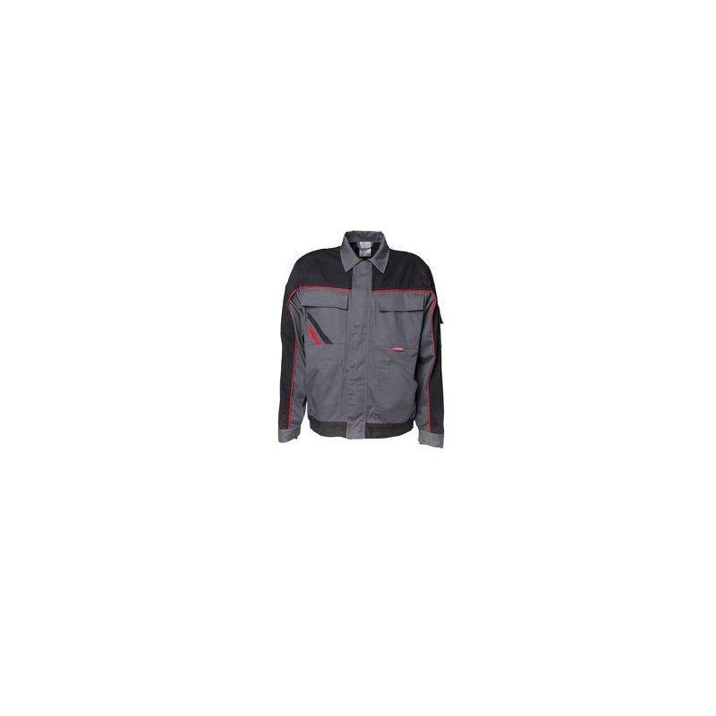 HIGHLINE Bluza robocza PLANAM /łupkowo-czarno-czerwone/