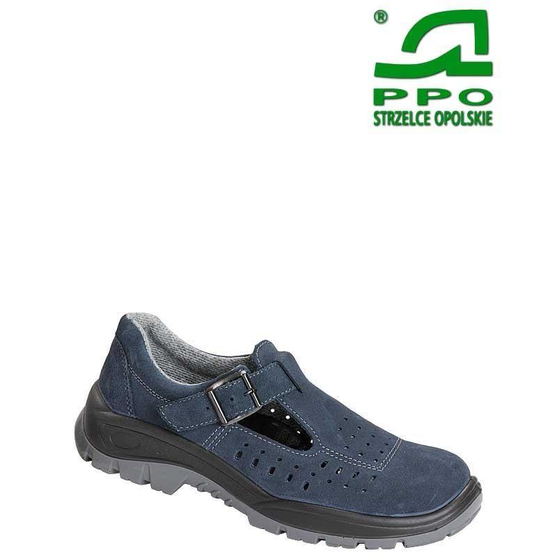 Sandały bezpieczne z metalowym podnoskiem wz.41W