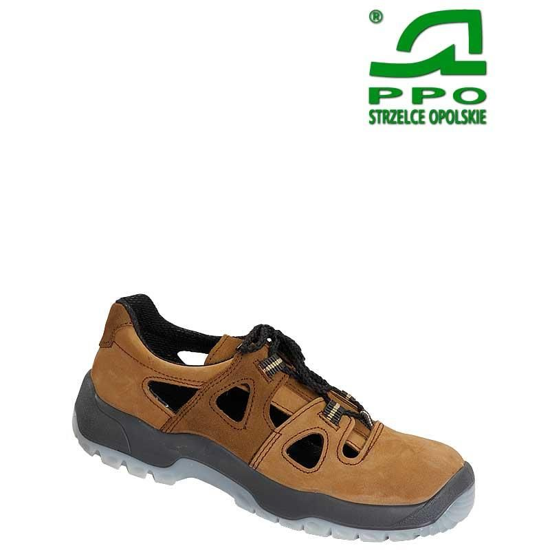 Sandały bezpieczne z metalowym podnoskiem wz.52N