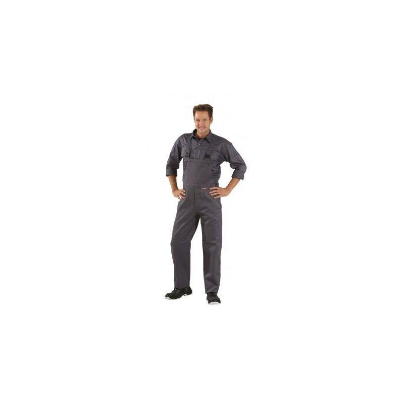 SPAWACZ Spodnie ogrodniczki 360g/m2 PLANAM /szare/