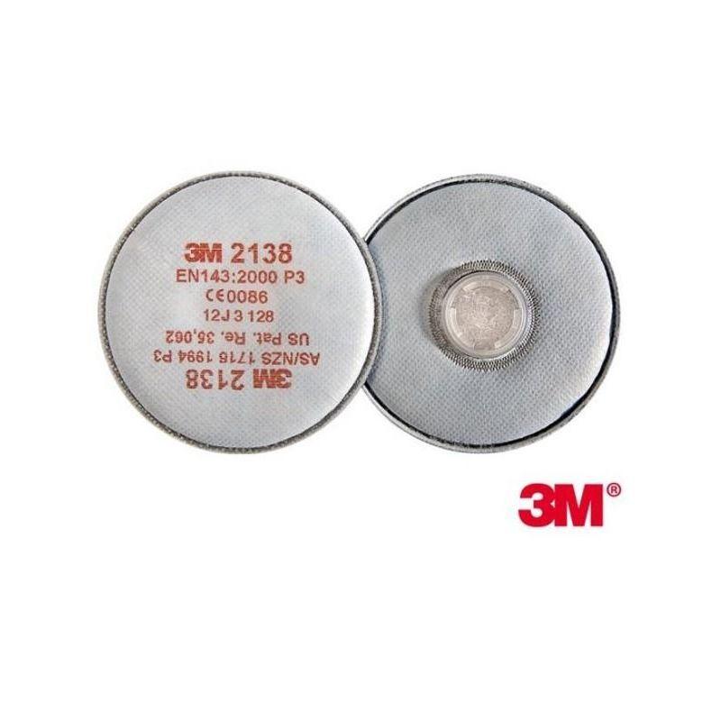 Filtr przeciwpyłowy P3 3M 2138 A'2