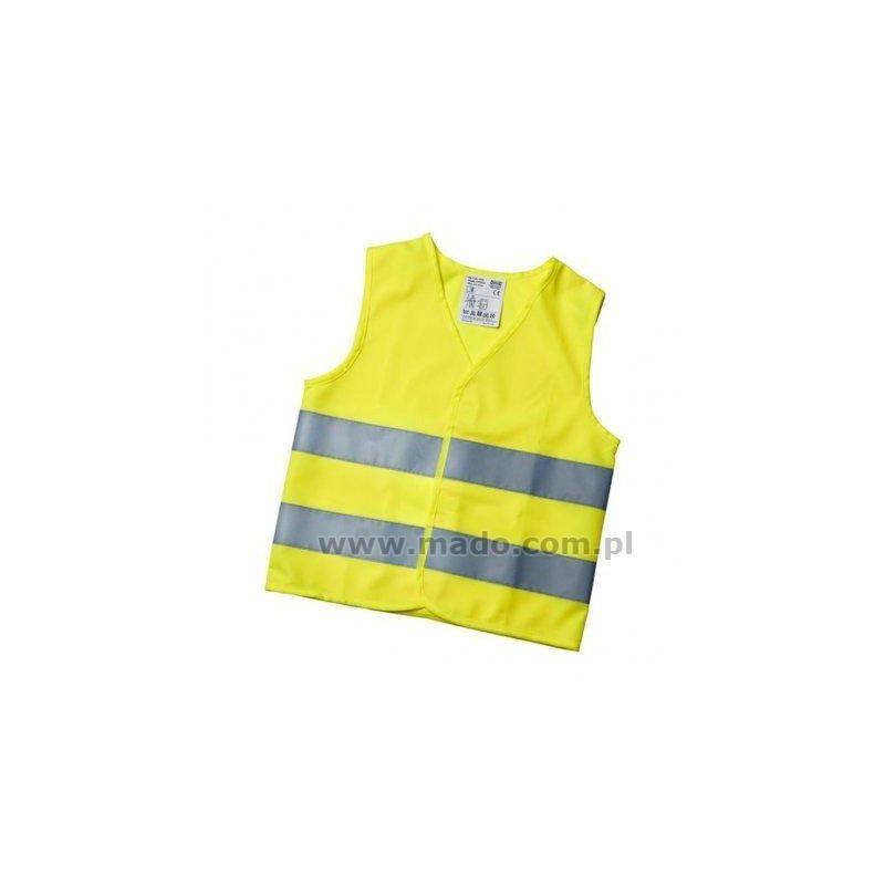 Kamizelka ostrzegawcza dla dzieci żółta
