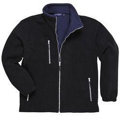 Bluza polarowa CZARNA CITY F401 410 g/m