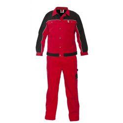 Ubranie szwedzkie AJAKS czerwono/czarne