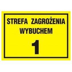 Strefa zagrożenia wybuchem Z-1. Płyta 29,7x42 cm