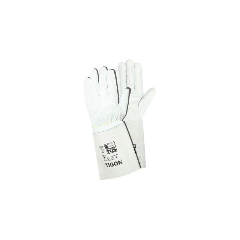 Rękawice spawalnicze ze skóry licowej koziej  TIGON GOAT