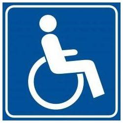 Droga dla niepełnosprawnych. Folia samoprzylepna 10,5x10,5 cm