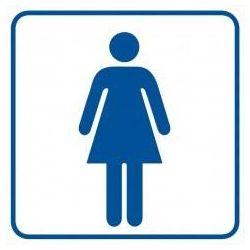 WC-damski. Płyta 10,5x10,5 cm