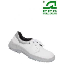 Półbuty białe bepieczne z metalowym podnoskiem wz.204