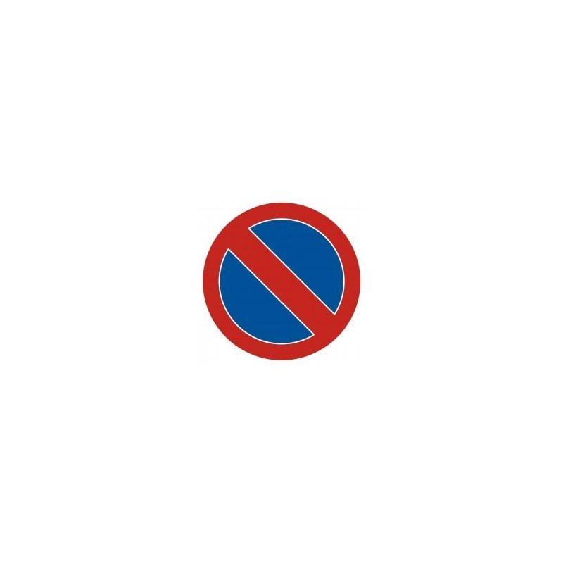 Zakaz postoju. Płyta 33x33 cm