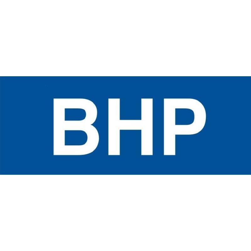 Znak BHP.Płyta 10x30 cm