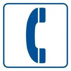 Oznaczenie telefonu. Folia samoprzylepna 10,5x10,5 cm