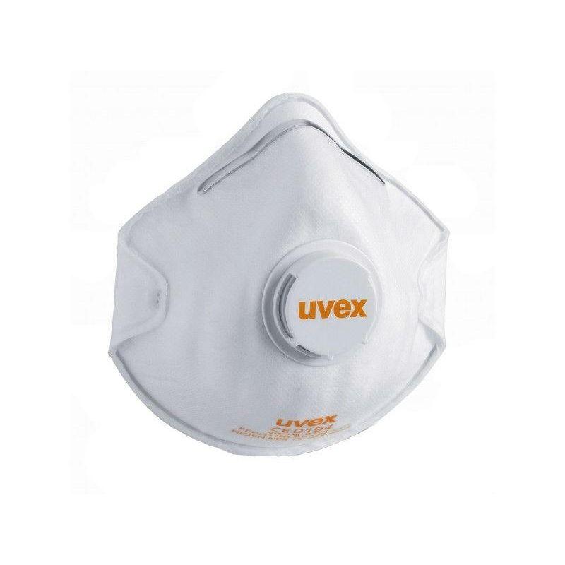 Półmaska filtrująca  z zaworem wydechowym Silv-Air FFP2 ART. 8732.210  /opak: 15 szt/