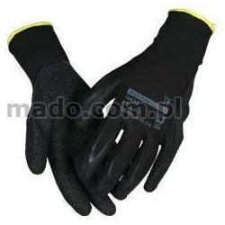 Rękawice Black Grip 164 z tkanego nylonu, powleczane lateksem